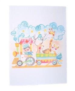 Gleeful Card (Boy & Girl)