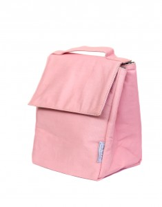 Pink Insulated Lunch Bag