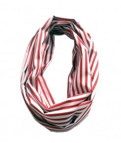 Infinite Scarf - Stripe Red