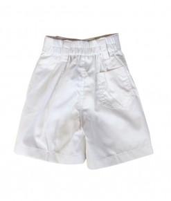 Classic Short Pant - White