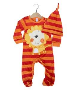 Costume Jumpsuit + Hat - Lion