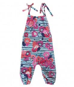 Floral Stripes Playsuit