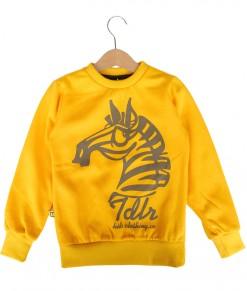 Zebra Yellow Sweater
