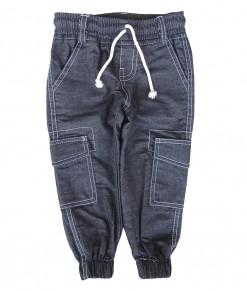 Zev Cargo Jogger Pant - Blue Denim