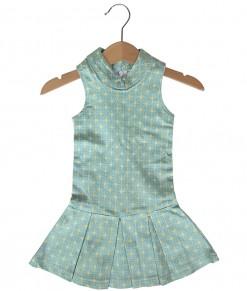 Cheongsam Strech Green Dress