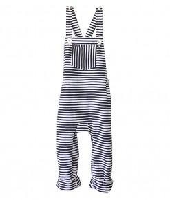 Stripe Sweat-Overall